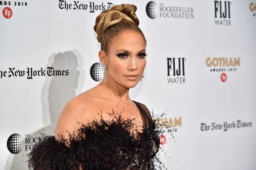 Jennifer Lopez wcieliła się w postać striptizerki, która okradała bankierów /Theo Wargo/Getty AFP /East News