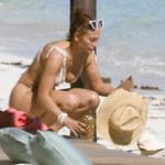Jennifer Lopez z białym bikini!