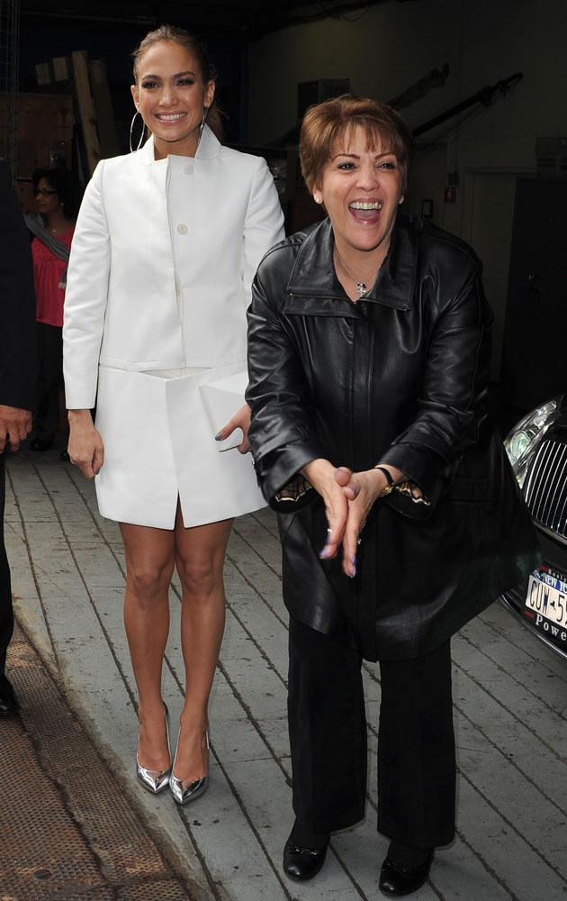 Jennifer Lopez z matką  /Splashnews