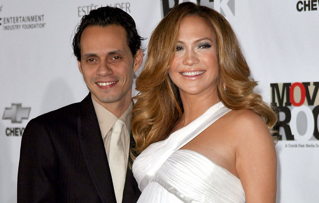 Jennifer Lopez z mężem  /Splashnews