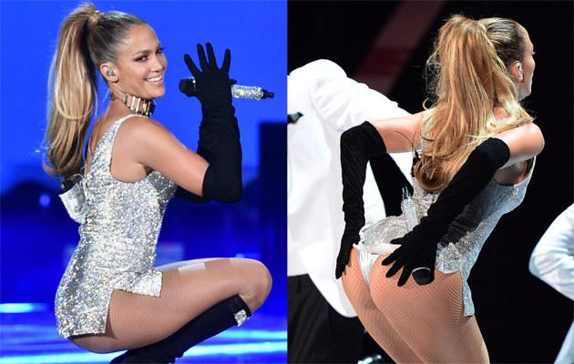 Jennifer Lopez została ostro skrytykowana za ten występ /Theo Wargo, Dimitrios Kambouris /Getty Images
