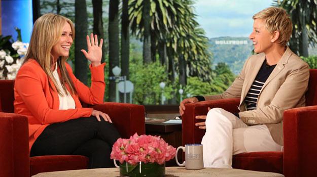 Jennifer Love Hewitt tym razem była szczera z Ellen DeGeneres /materiały prasowe