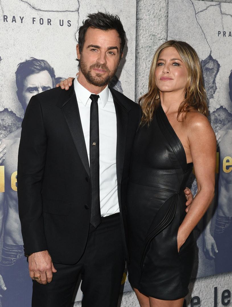Jennifer z byłym mężem, Justinem /AxelleBauer-Griffin /East News