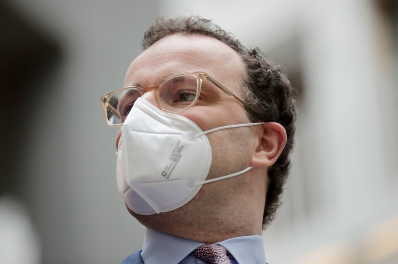 Jens Spahn /HANNIBAL HANSCHKE / POOL /AFP