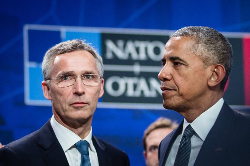 Jens Stoltenberg i Barack Obama /AFP