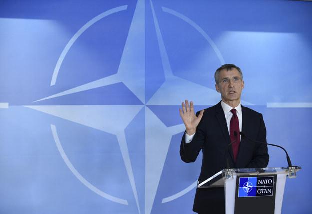 """Jens Stoltenberg: NATO mówi Rosji """"stop"""" /AFP"""