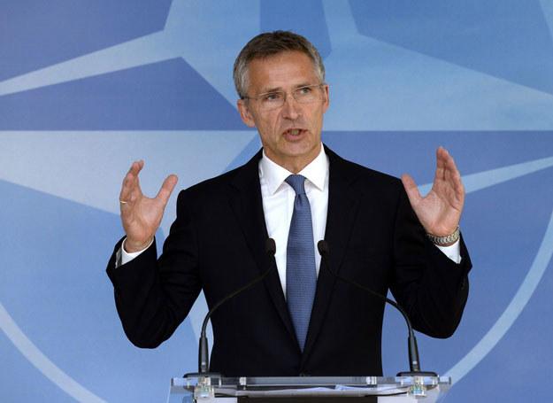 Jens Stoltenberg podkreślił, że Rosja jest odpowiedzialna za agresywne działania w Europie /THIERRY CHARLIER /East News