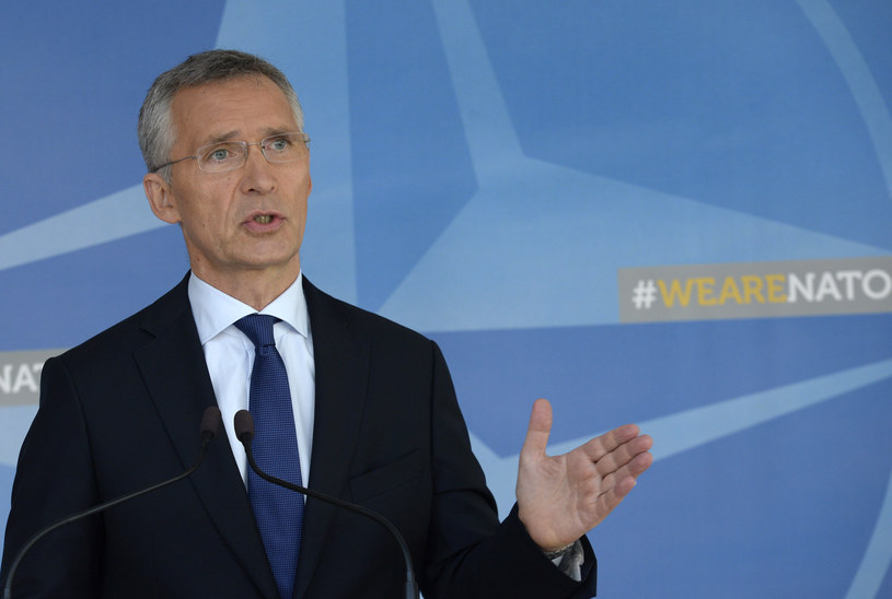 Jens Stoltenberg /THIERRY CHARLIER /AFP