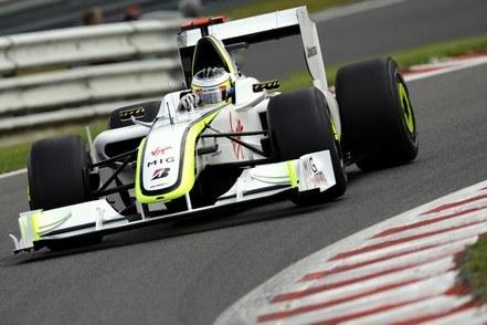 Jenson Button w Brawn GP /AFP