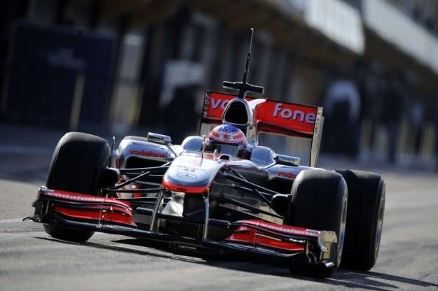 Jenson Button za sterami McLarena /AFP