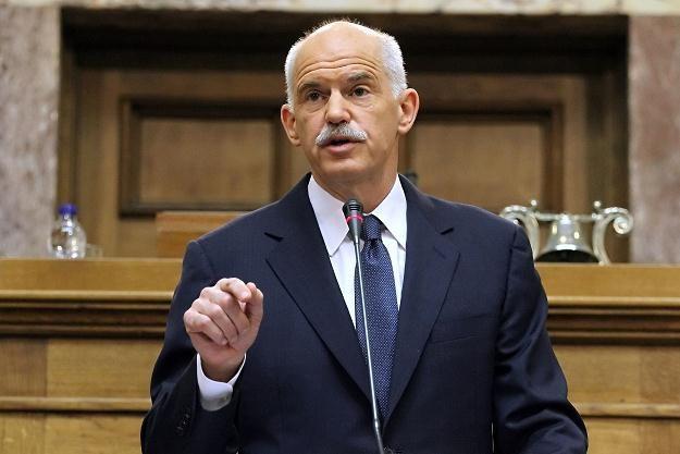 Jeorjos Papandreu, premier Grecji /AFP