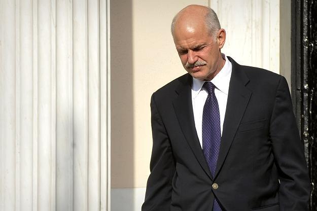Jeorjos Papandreu, premier greckiego rządu /AFP