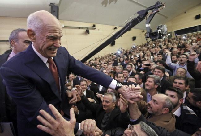 Jeorjos Papandreu /YANNIS KOLESIDIS /PAP/EPA
