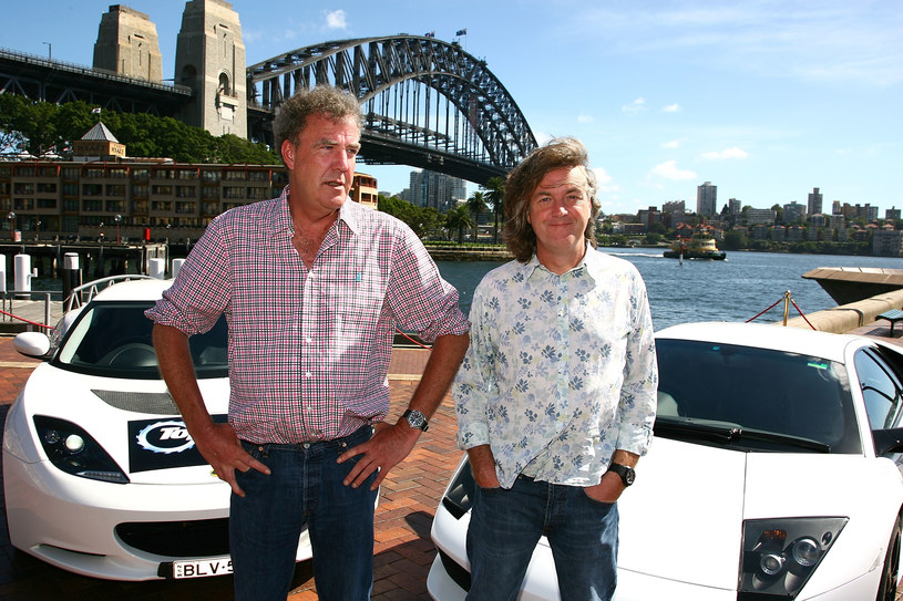 Jeremy Clarkson i James May /Mike Flokis /Getty Images
