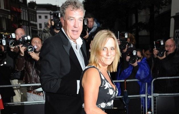Jeremy Clarkson z żoną /- /East News