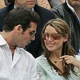 Jeremy Garamond i Danniii Minogue w Paryżu /AFP