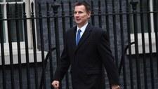 Jeremy Hunt nowym ministrem spraw zagranicznych Wielkiej Brytanii