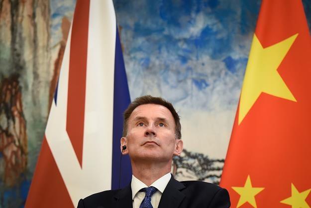 Jeremy Hunt, szef brytyjskiego MSZ /AFP