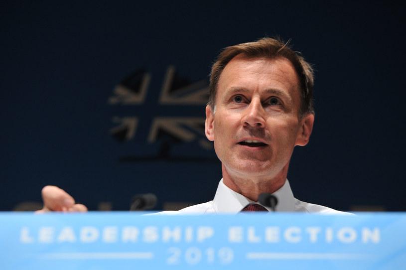 Jeremy Hunt, szef MSZ Wielkiej Brytanii /AFP