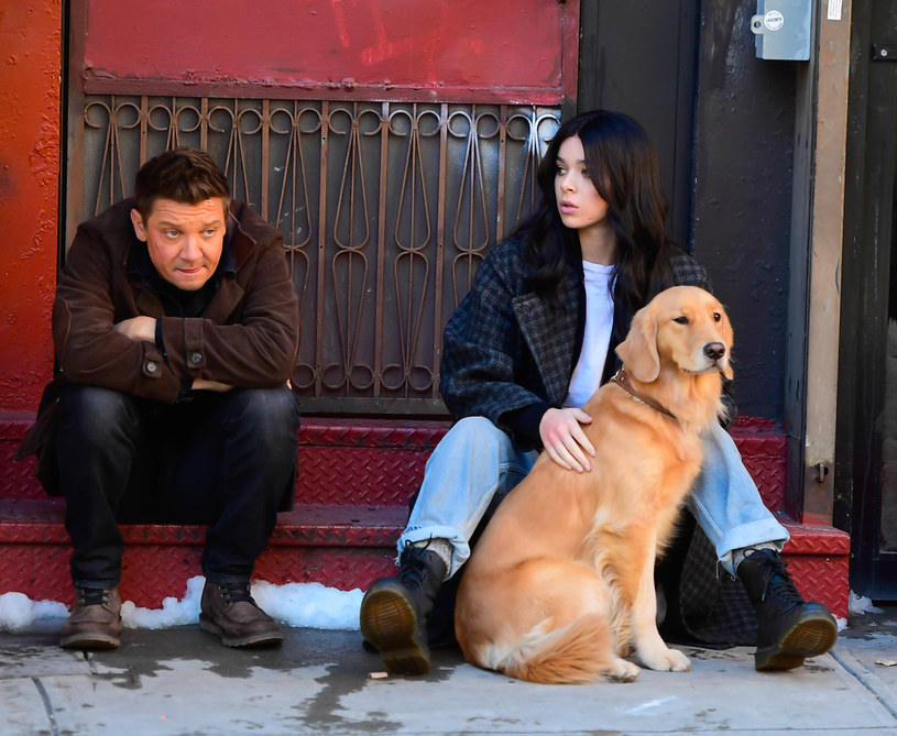 Jeremy Renner i Hailee Steinfeld /Raymond Hall/GC Images /Getty Images
