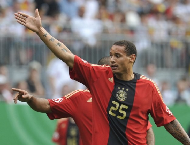 Jermaine Jones, jeszcze w koszulce reprezentacji Niemiec /AFP