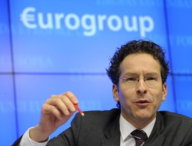 Jeroen Dijsselbloem, minister finansów Holandii i przewodniczący eurogrupy /AFP
