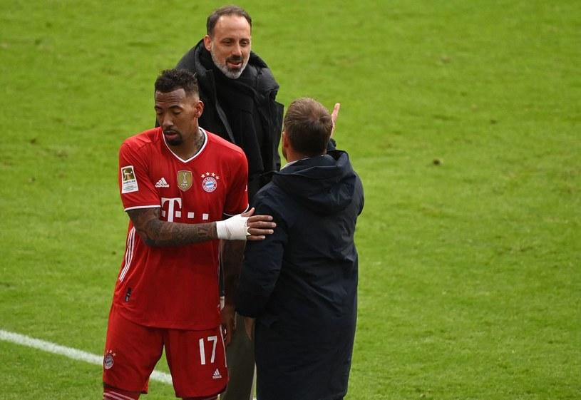 Jerome Boateng (z lewej) /MATTHIAS BALK /AFP