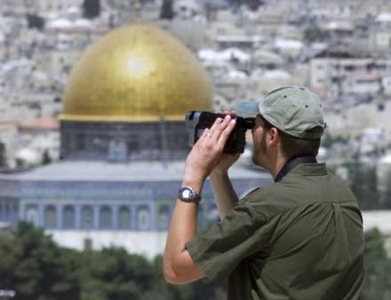 Jerozolima przeżywa najazd turystów /AFP