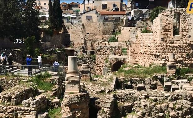 Jerozolima śladami Chrystusa – Sadzawka Betesda [WIDEO]