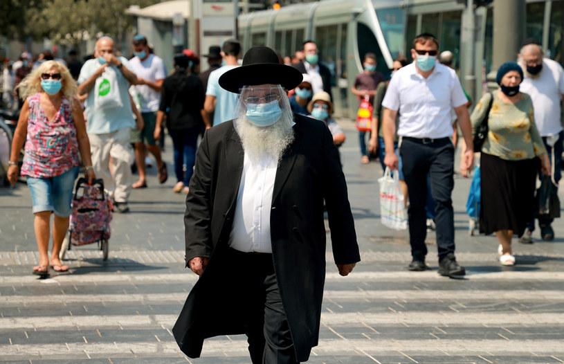Jerozolima w czasie epidemii /AFP