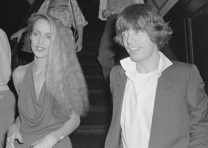 Jerry Hall i Mick Jagger, 1978 r. /Getty Images