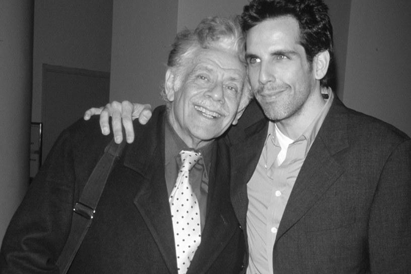 Jerry Stiller z synem Benem Stillerem w 1995 roku /The LIFE Picture Collection /Getty Images
