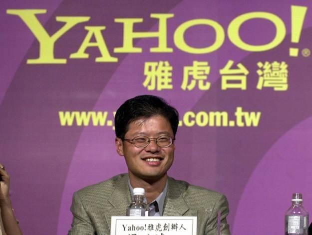 Jerry Yang - jego odejście z Yahoo! pokazuje, jak bardzo zmienił się internet /AFP