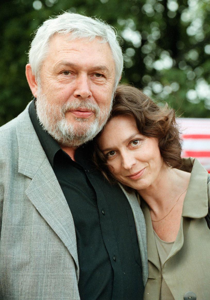 Jerzy Bińczycki z żoną Elżbietą /Piotr Liszkiewicz  /East News