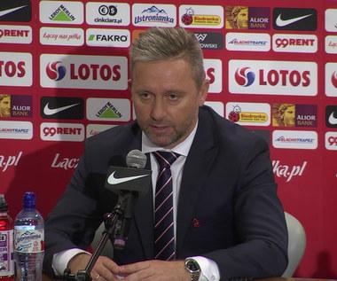 Jerzy Brzęczek i Zbigniew Boniek o Andrzeju Woźniaku w sztabie kadry. Wideo