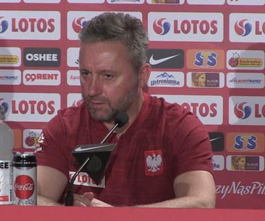 Jerzy Brzęczek o formie Krzysztofa Piątka. Wideo