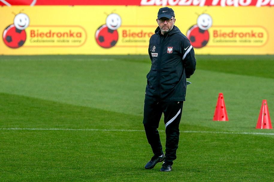 Jerzy Brzęczek - trener piłkarskiej reprezentacji Polski /Jan Dzban /PAP