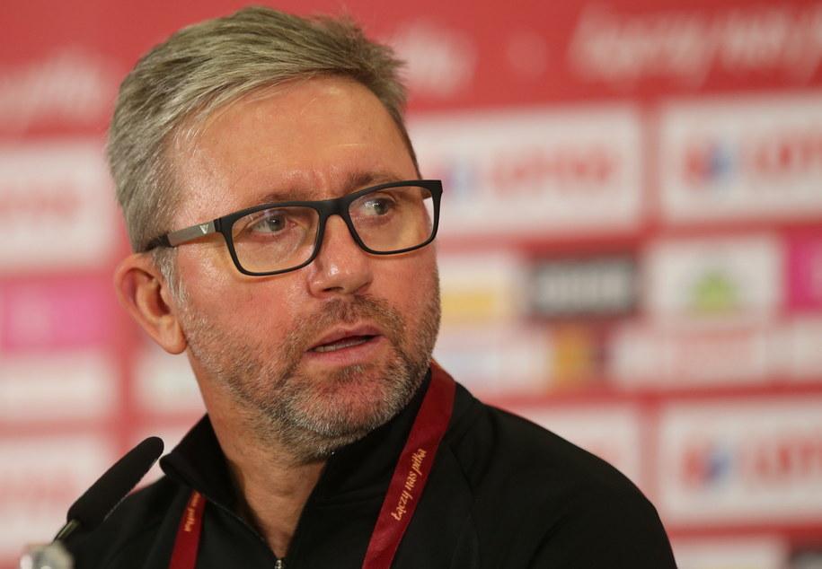 Jerzy Brzęczek - trener piłkarskiej reprezentacji Polski / Andrzej Grygiel    /PAP