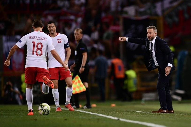 Jerzy Brzęczek (z prawej) podczas meczu Włochy - Polska /AFP