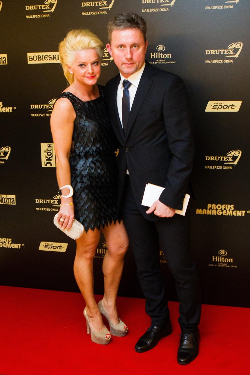 Jerzy Brzęczek z żoną /Andrzej Lange /East News