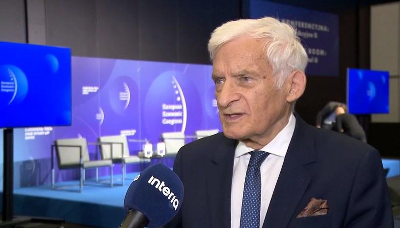 Jerzy Buzek, były premier, poseł do Parlamentu Europejskiego /INTERIA.PL