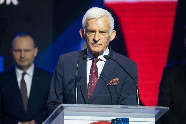 Jerzy Buzek. Fot. Jacek Domiński /Reporter