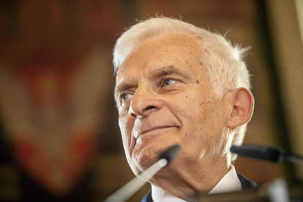 Jerzy Buzek. Fot. Jakub Ociepa Agencja Gazeta /