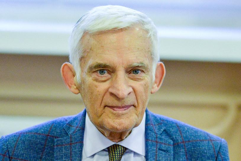 Jerzy Buzek, poseł do Parlamentu Europejskiego. /Piotr Kamionka /Reporter