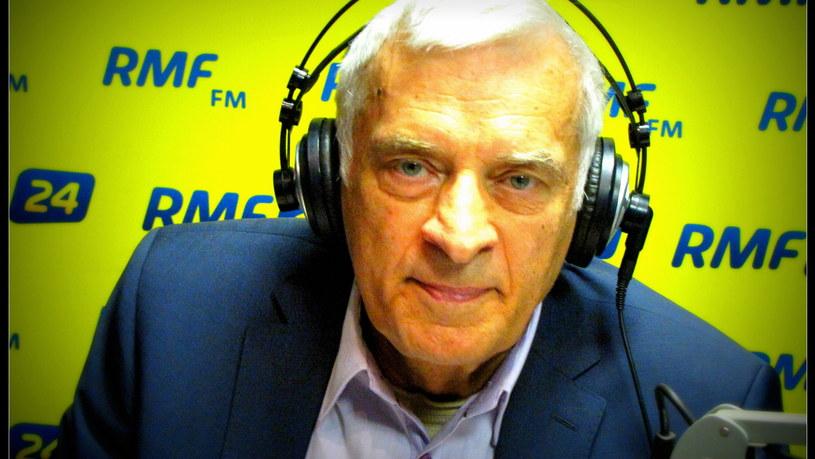 Jerzy Buzek /Marcin Buczek /RMF FM