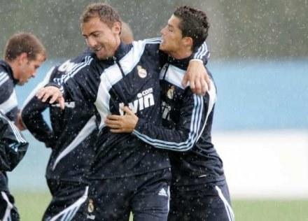 Jerzy Dudek w otoczeniu takich gwiazd jak Cristiano Ronaldo przygotowuje się do sezonu /Getty Images/Flash Press Media