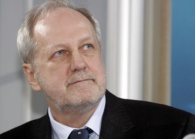 Jerzy Duszyński, wiceminister nauki. Fot. Damian Ruciński /Reporter
