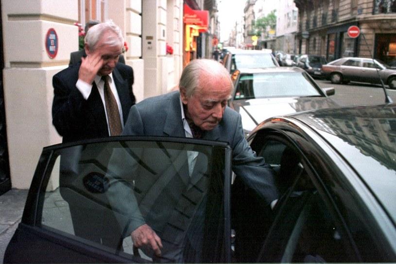 Jerzy Giedroyć w maju 2000 roku. Opuszcza instytut Polskiej Akademii Nauk /Maciej Piasta /FORUM
