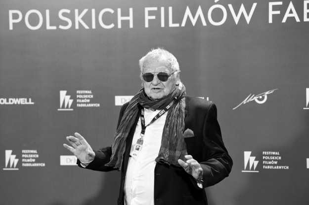 Jerzy Gruza w drodze na uroczystą galę wręczenia nagród i zamknięcia 44. Festiwalu Polskich Filmów Fabularnych w Gdyni, wrzesień 2019 / Adam Warżawa