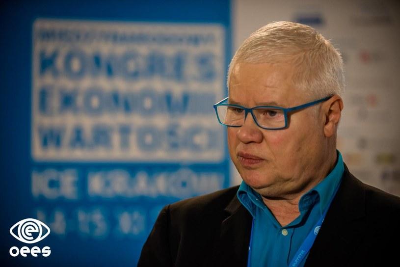 Jerzy Hausner, współtwórca Open Eyes Economy Summit /materiały prasowe